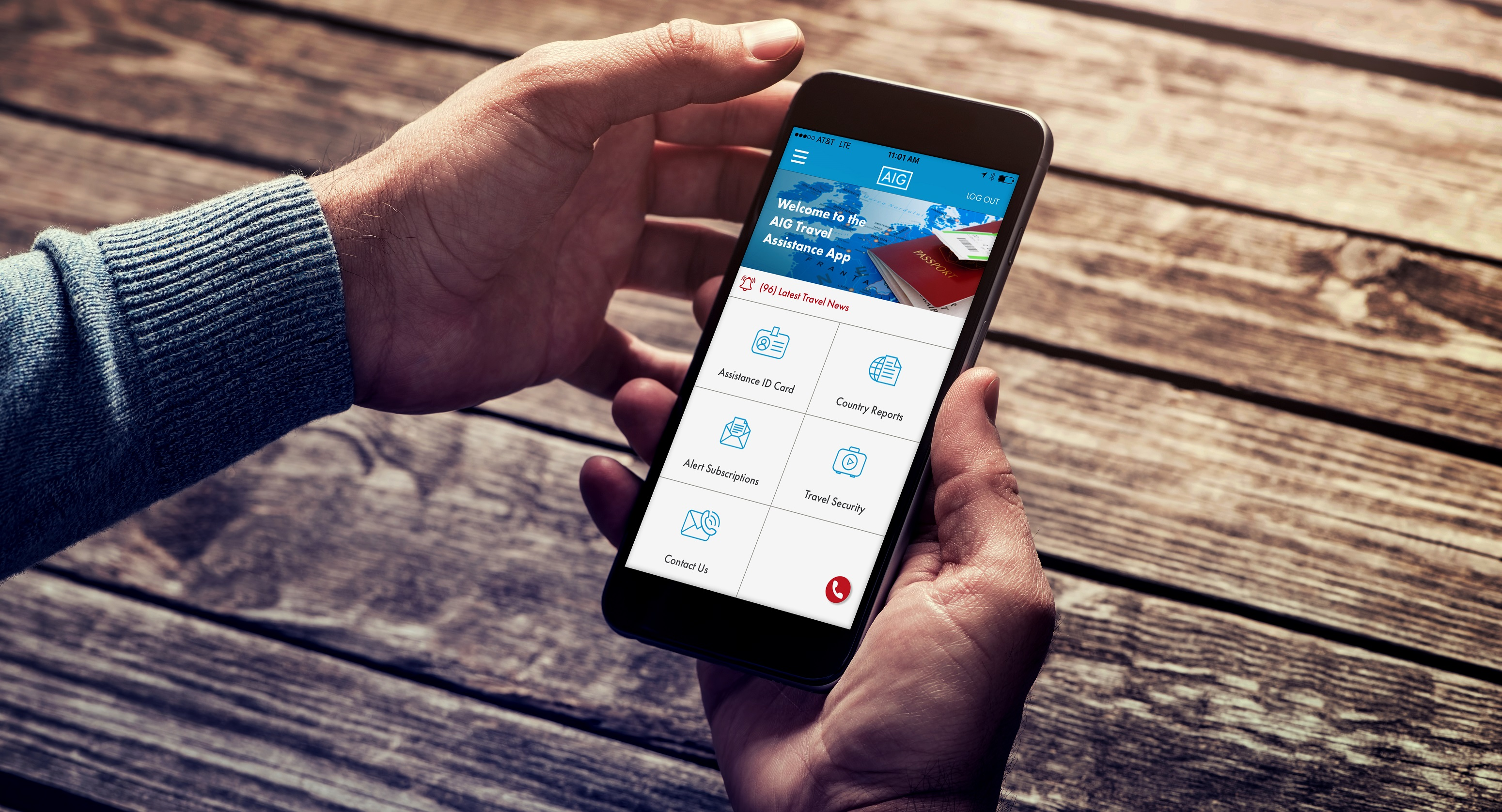 AIG Travel Assistance Mobile App